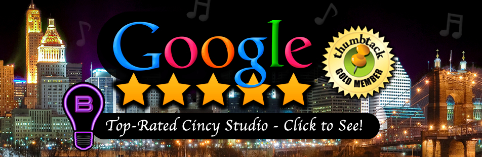 Top Rated Cincinnati Recording and Production Studio